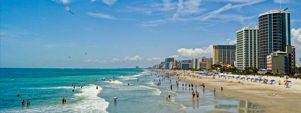 Myrtle Beach Resorts on Panama City Beach Condo Rentals