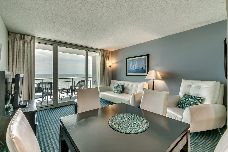 Oceans One Resort 1 Bedroom Oceanfront C Myrtle Beach Condos Vacation Rentals