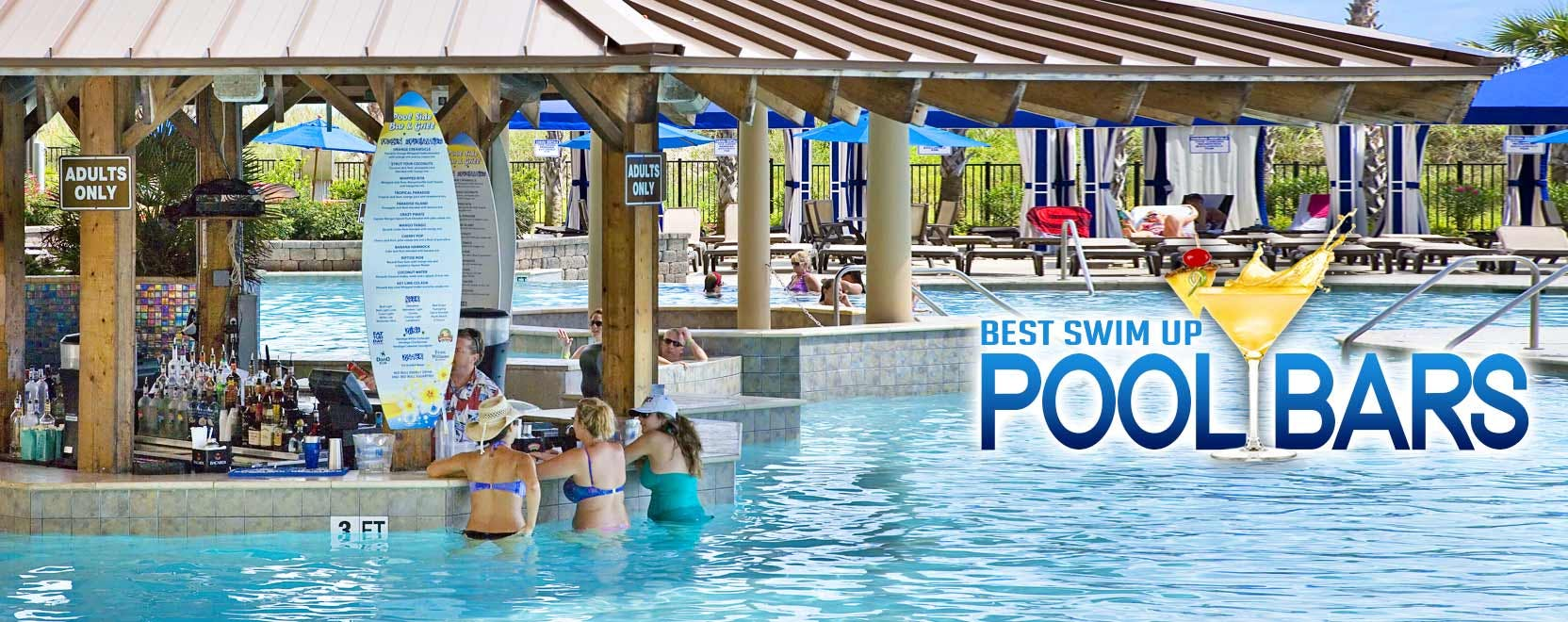 5 Awesome Pool Bars in Myrtle Beach You Need to See